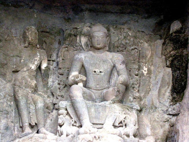 Aurangabad Caves-Buddha