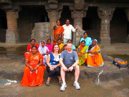 Aurangabad caves 3--Rock stars