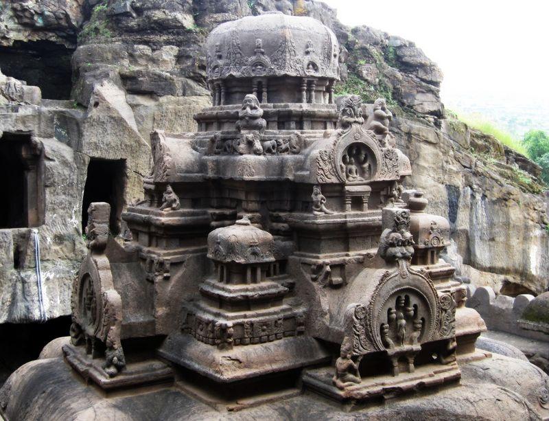 Jain Cave-Chhota Kailash