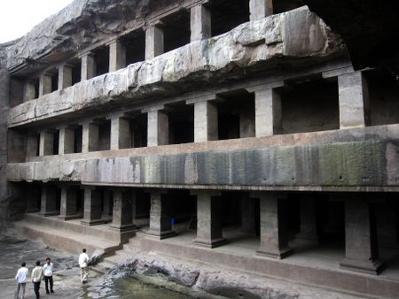 Buddhist caves--monastery