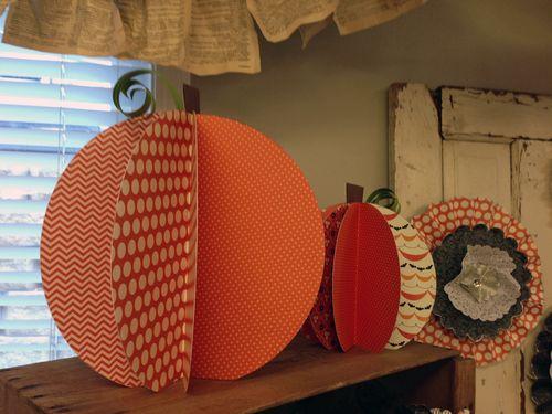 Thirty One 3D Pumpkins
